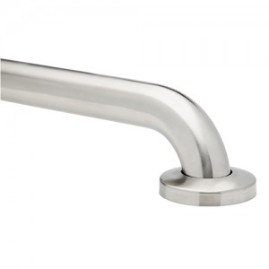 GRIPP No Drill Brushed Stainless Steel Grab Bar