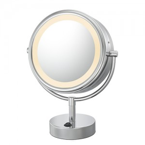 Kimball & Young 1X/5X NeoModern Lighted LED Vanity Mirror