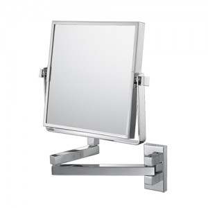 Kimball & Young Mirror Image 3X Square Pivot Arm Wall Mirror