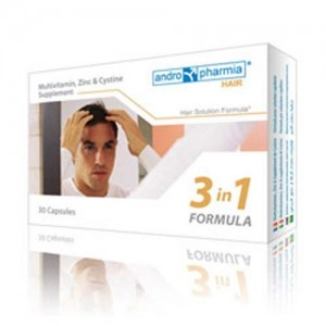 Andropharmia Hair Loss Supplement - 1 Month Supply