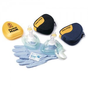 Laerdal Pocket CPR Mask W/ One Way Valve