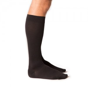 Midtown Microfiber Mens 20-30mmHg Knee High Closed Toe