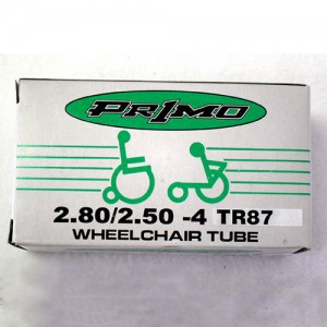 Standard Inner Tube w/ Schrader Valve for Wheelchairs