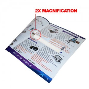 "2X / 6"" Bar Magnifier"