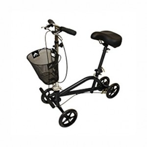 Gemini Seated Scooter - Black Powder Coat