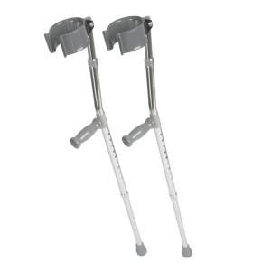 Medline Forearm Crutches - Aluminum