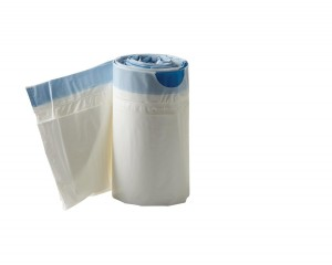 Medline Commode Liners with Highly Absorbent Pads MDS89664LINER (Pack of 72) (fits all standard beside commodes)
