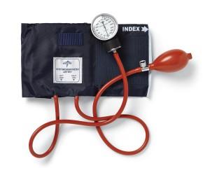 PVC Handheld Aneroid Sphygmomanometer with Nylon Cuff