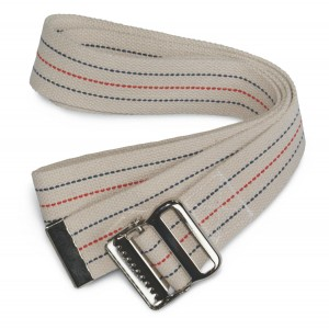 Medline Washable Cotton Gait Belts
