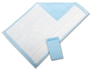 Medline Disposable Fluff Underpads