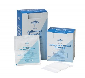 Surgical Adhesive Dressings, Latex Free - Sterile