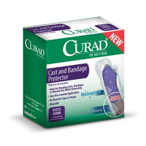 CURAD Cast & Bandage Protector - Adult or Child, Leg or Arm