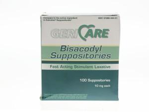 MedLine Bisacodyl Suppositories
