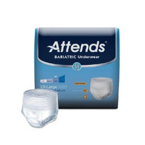 Attends Healthcare Products Attends Bariatric Underwear - XXL - Heavy Absorbency