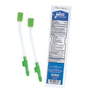 Toothette Multi-Pack Sunction Swab System with Perox-a-mint
