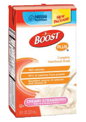 Nestle BOOST® PLUS Complete Nutrition Drink
