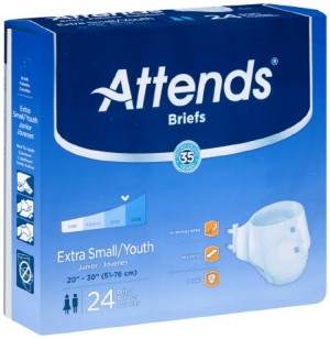 Attends Healthcare Products Attends Briefs Heavy Absorbency