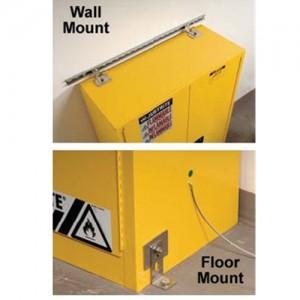 "Justrite Seismic Bracket Kit 4"" X 48"" X 4"""