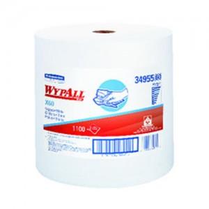 Kimberly-Clark  WYPALL  X60 Terry Wipers On Jumbo Roll