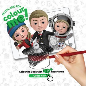 ColorME 4D+ Coloring Book