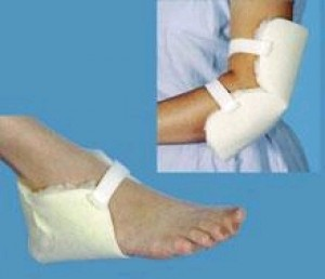 Sheepette Synthetic Lambskin Heel Protector by Essential Medical Supply