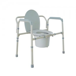 Drive Heavy Duty Bariatric Folding Bedside Commode Seat