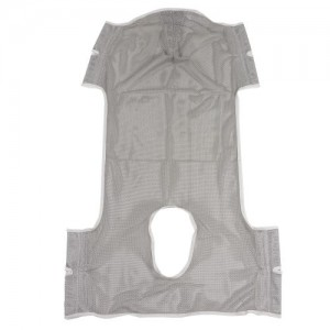 Drive Patient Lift Commode Sling with Head Support