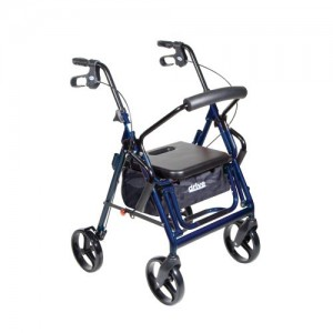 Drive Duet Transport Wheelchair Walker Rollator