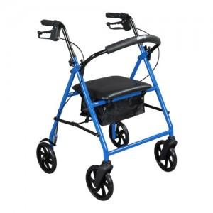 """Drive Steel Walker Rollator with 8"""" Wheels"""