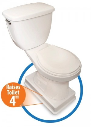 Easy Toilet Riser Deluxe Toilet Elevator