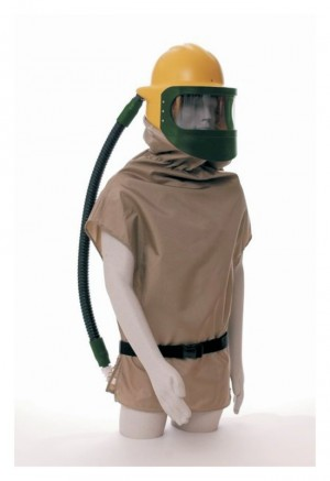 Bullard Respirator With Nylon Cape