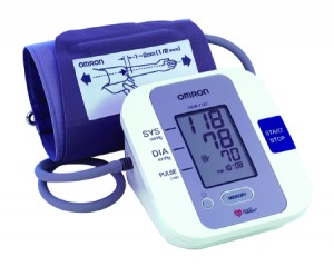 Automatic Inflation Blood Pressure Monitor by Omron