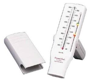 Respironics Personal Best Flow Meter Asthma Peak Flow Meter