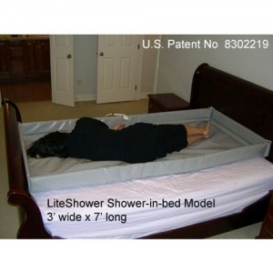 LiteShower Shower-in-Bed