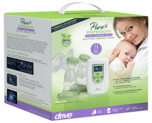 Drive Medical Pure Expressions Dual Channel Electric Breast Pumps