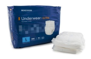 McKesson StayDry Underwear Ultra Absorbency