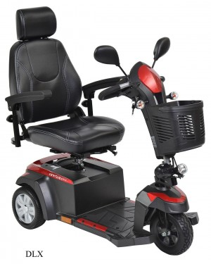 Drive Ventura Power Mobility Scooter, 3 Wheel