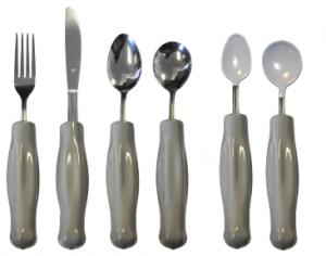 Weighted Gray Utensils