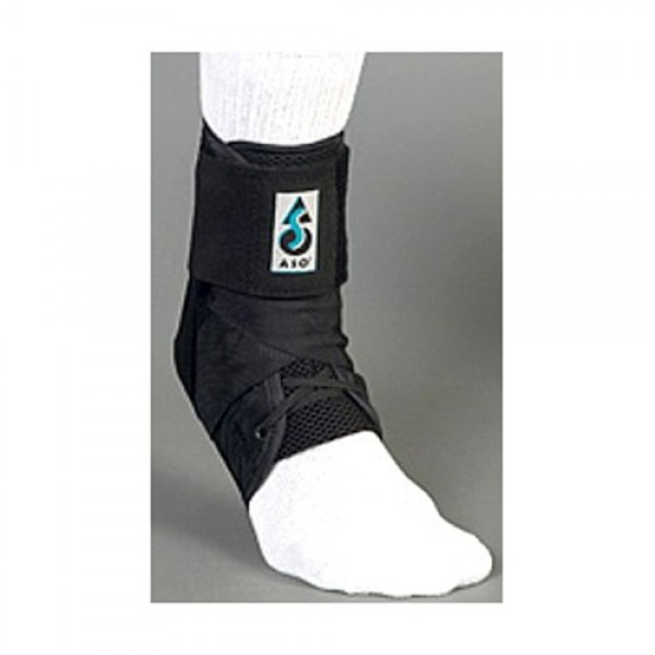 MedSpec ASO Black Ankle Brace Stabilizer