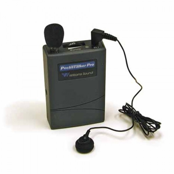 Williams Sound WS-PKTPRO1-E13 PockeTalker Pro with EAR 013 Single Mini Earbud