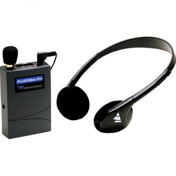 Williams Sound WS-PKTPRO1-H21 PockeTalker Pro with HED 021 Deluxe Headphone