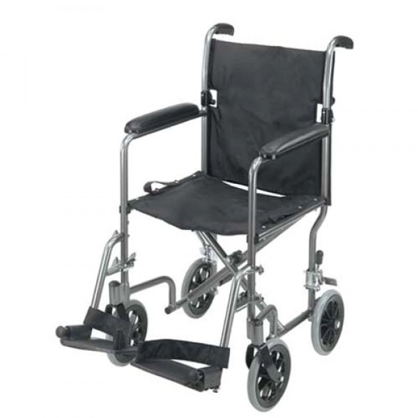 Ultra Lightweight Aluminum Transport Chair