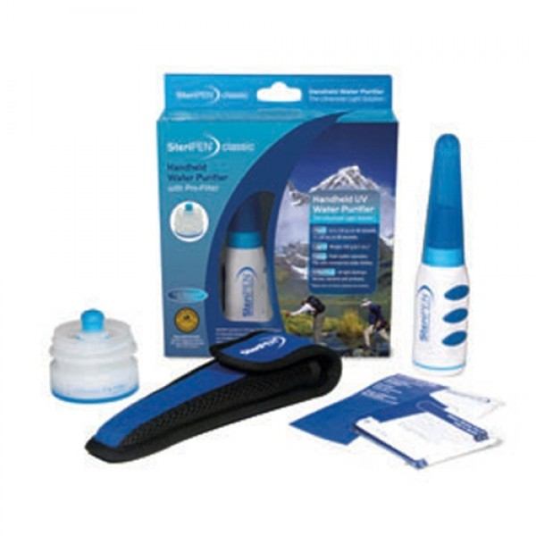 SteriPEN Classic Handheld Water Purifier with Pre-Filter