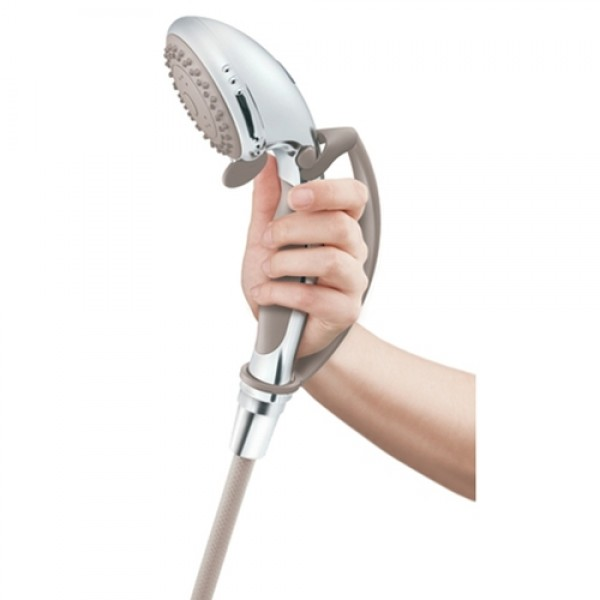 Premium Chrome Handheld Shower Head