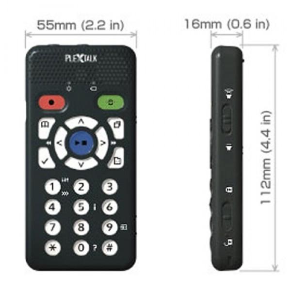 Plextalk Pocket DAISY Player PTP1