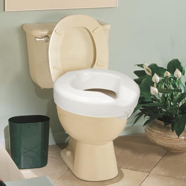 Carex Safe Lock Raised Toilet Seat