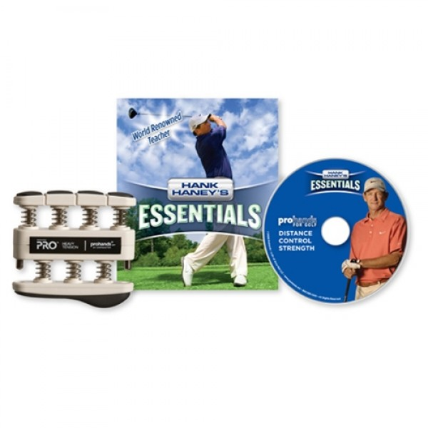 Hank Haney's Essentials Grip Strength Hand Exerciser and DVD