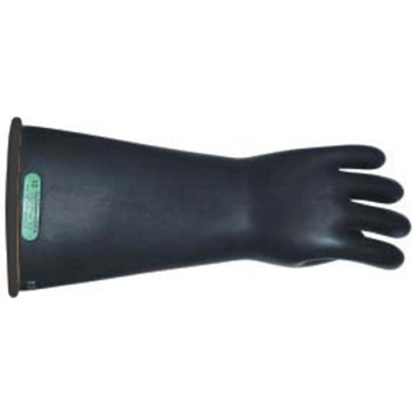 W. H. Salisbury Natural Rubber Linesman's Gloves With Straight Cuff