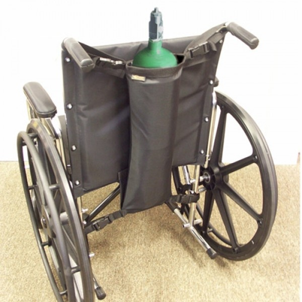 EZ Access Wheelchair Oxygen Tank Holder