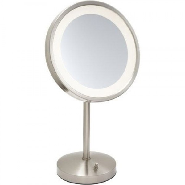 Jerdon 5X LED Halo Lighted Vanity Mirror
